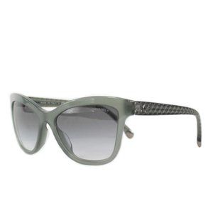 CHANEL Accessories - Chanel Women's Quilted Cat Eye Sunglasses 5330-A